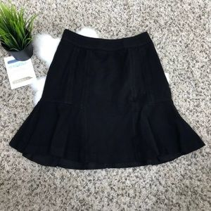 WHBM Skirt Flare Casual Lined Stretch Sz 0